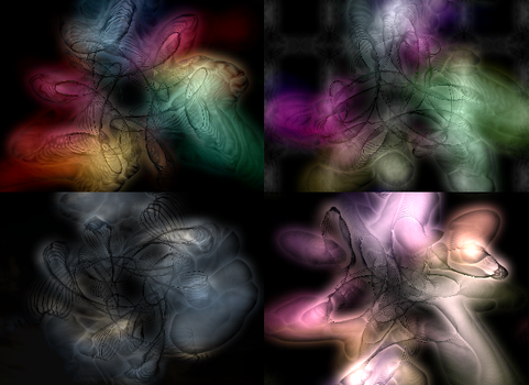 Glowing Viscous Sustance Series by cynodelic