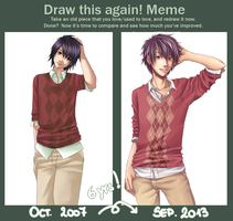 Before After Meme by Kai-Yan