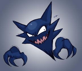 Shiny Haunter by lord-phillock