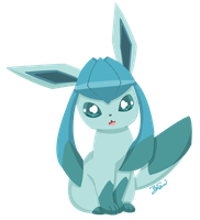 Pokemon - Glaceon by PirateGod3D2Y