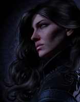 Yennefer of Vengerberg / Version 2 by AnnaPostal666