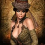 Steampunk Sweetheart by RavenMoonDesigns