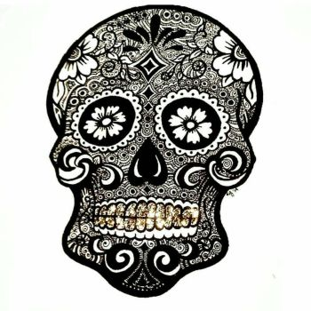 Day of the dead #1 by Organisedcha0s