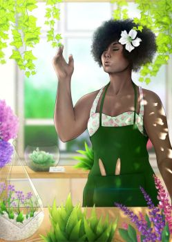 Green Fingers by CosmosKitty