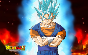 vegetto ssj blue full power by naironkr