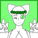 :YCH: Clover Crown Necrobie :OPEN: by DU4L1TY