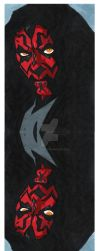 Maul bookmark by dracon257