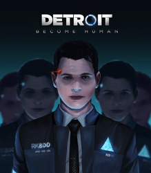 Hello I'm Cyberlife, the Connor sent by Android by LittleLionLie