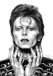 David Bowie by SavanasArt