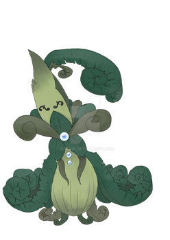 Fakemon: Fiddlespurn by ixfalia
