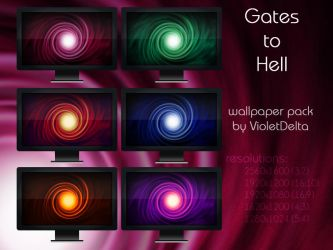 Gates to Hell by ResourcefulVD