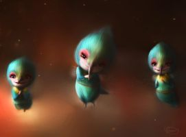 Rise of the Guardians - Tooth Pixies by iCookieday