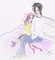 Bella and Jacob by Lacus-Clyne