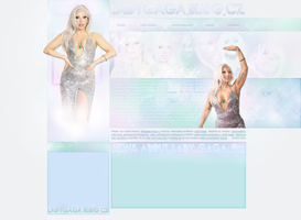 Ordered layout | Ladygaga.blog.cz by KeviWorldArt