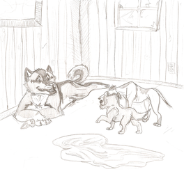 MafiaDogs_Rank Up Task Two: 'Cleaning Up' by foxpen
