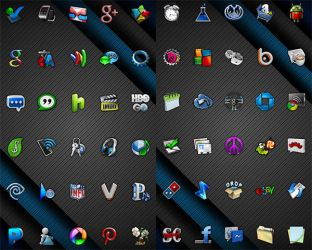 Cobalt Icon Pack v6.7 PNG by DambryCreative