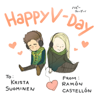 V-Day Finland by Boywithmeese
