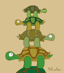 Turtle Tower by RiRiWillow