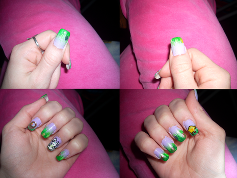 Easter Nails 2012 by RoxieAngel