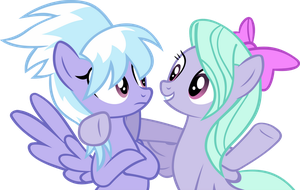 Cloudchaser And Flitter by IronM17