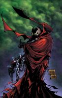 ...Spawn Comicon Final... by JWadeWebb
