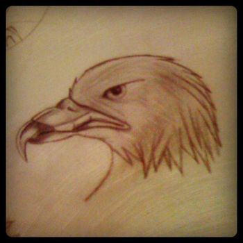 Draw Eagle by Tw1gs