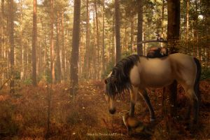 The Animal Protector by Orouthi