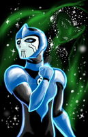 Blue Lantern Razer by xypher316