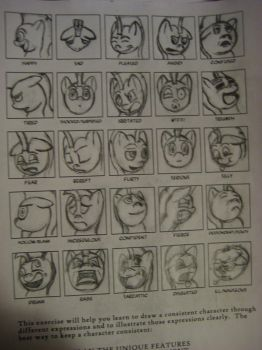 25 Expression Practice by tommyk1347