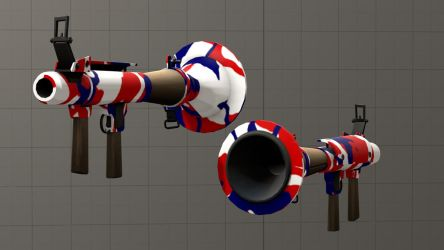 American pride camo Rocket Launcher [DL] by Nikolad92