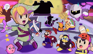 Smash Bros: Chibi Halloween? by AlSanya
