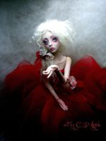 BJD Painting the roses B by cdlitestudio