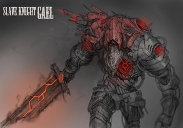 Robot Slave Knight Gael by MuHut