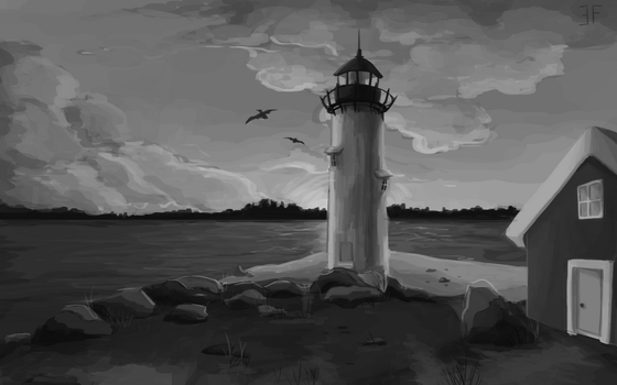 lighthouse by fairyleaf