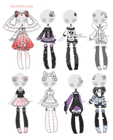 +Outfit Adoptable Mix 52 [CLOSED] (0/8)+ by Hunibi