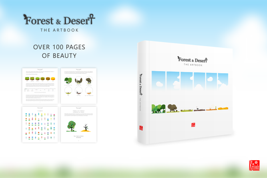 Forest and Desert: The Artbook by Krisada