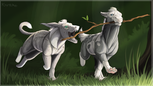 Stick Thief by KJfromColors