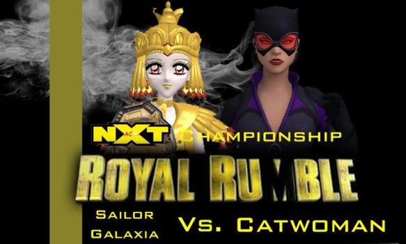 Royal Rumble 2018 - NXT Championship by JoeyTribbiani125