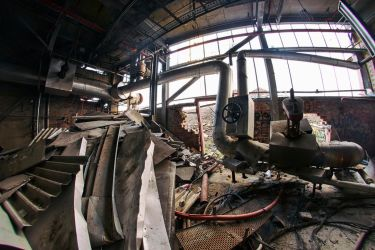 4469, old AMCOR papermill. by thespook