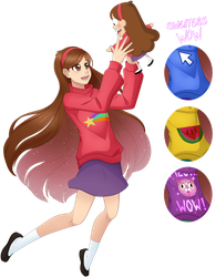 Mabel Pines by MulberryArt
