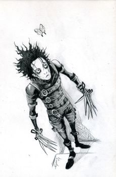 Edward Scissorhands by Romax25