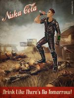 Fallout - Nuka Cola by maXKennedy