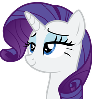 Rarity Daydreaming by Uponia