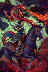 Mulan by adlovett