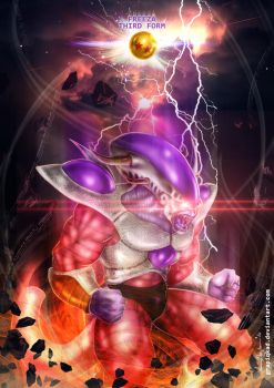 Freeza Third Form by Grapiqkad