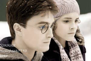 Harry and Hermoine by Musicfreak7793