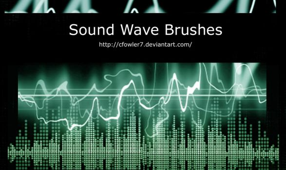 PS Brushes - Sound Waves by cfowler7-SFM