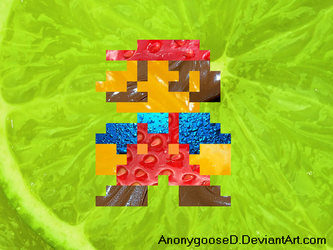 Totally Edible Super Mario Wallpaper by AnonygooseD