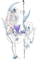 Absol + Me by CarrieJCole