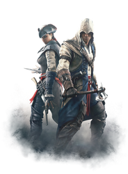 Assassin's Creed - Aveline and Connor by IvanCEs